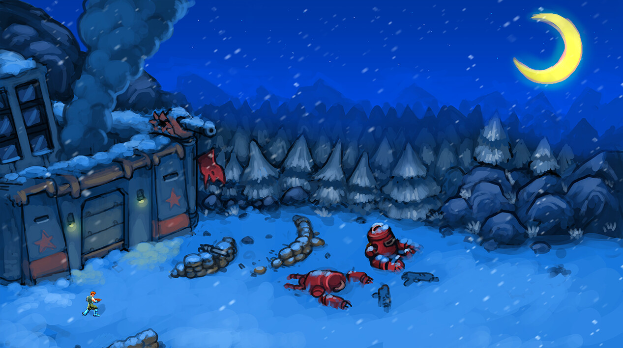 Winter Base 01