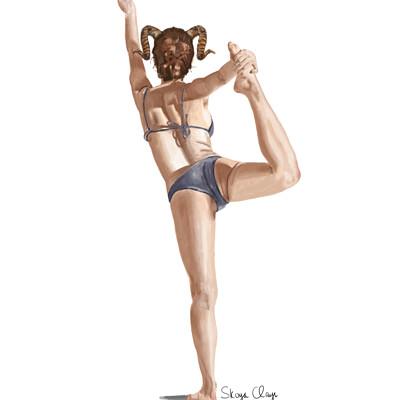 Skoya clayr dancingwoman1