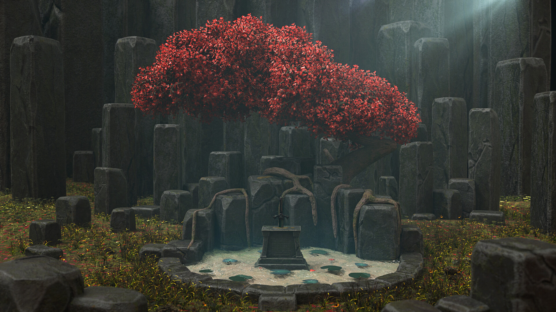 Chien jarvis sword stone beauty chien jarvis