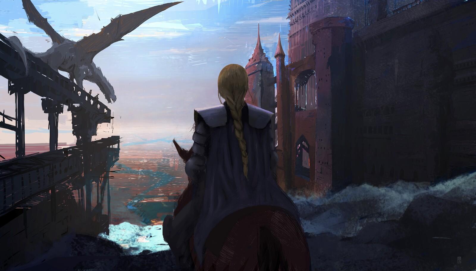 Crossing the Door Citadel