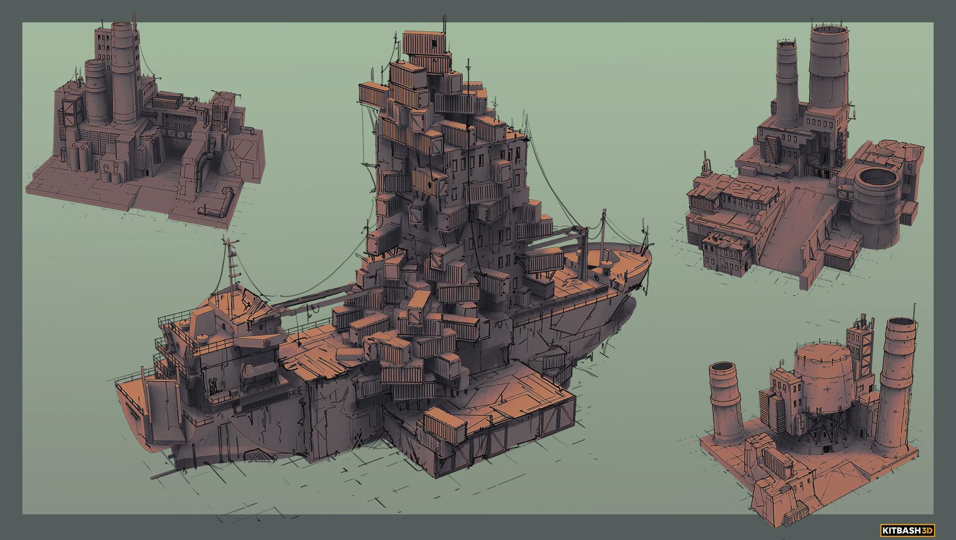 Sebastian luca kb3d wastelands kit1