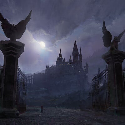 Kirill repin 2019 08 21 hogwarts main gate
