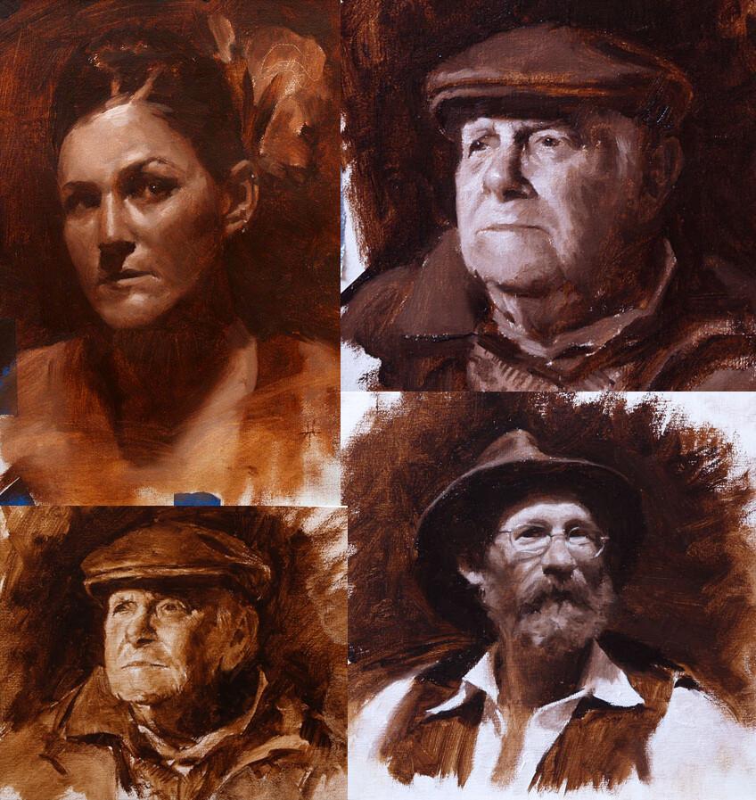 Jonathan hardesty portraitsketches medium