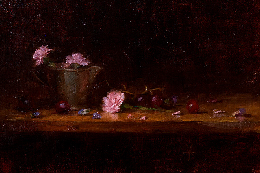 Jonathan hardesty grapes and carnations medium