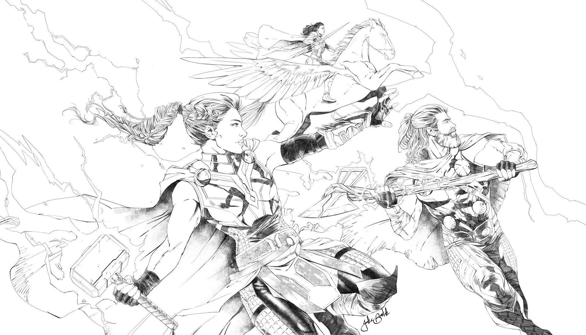 Finished Pencils