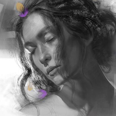 Chris petrocchi face of love detail