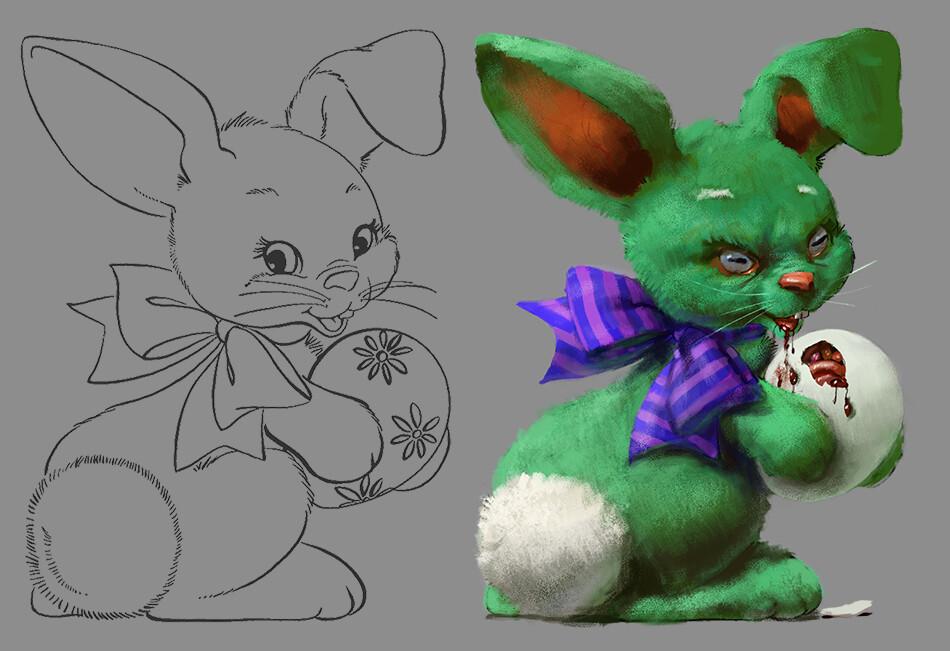 Jonathan hardesty disturbing easter bunny 2