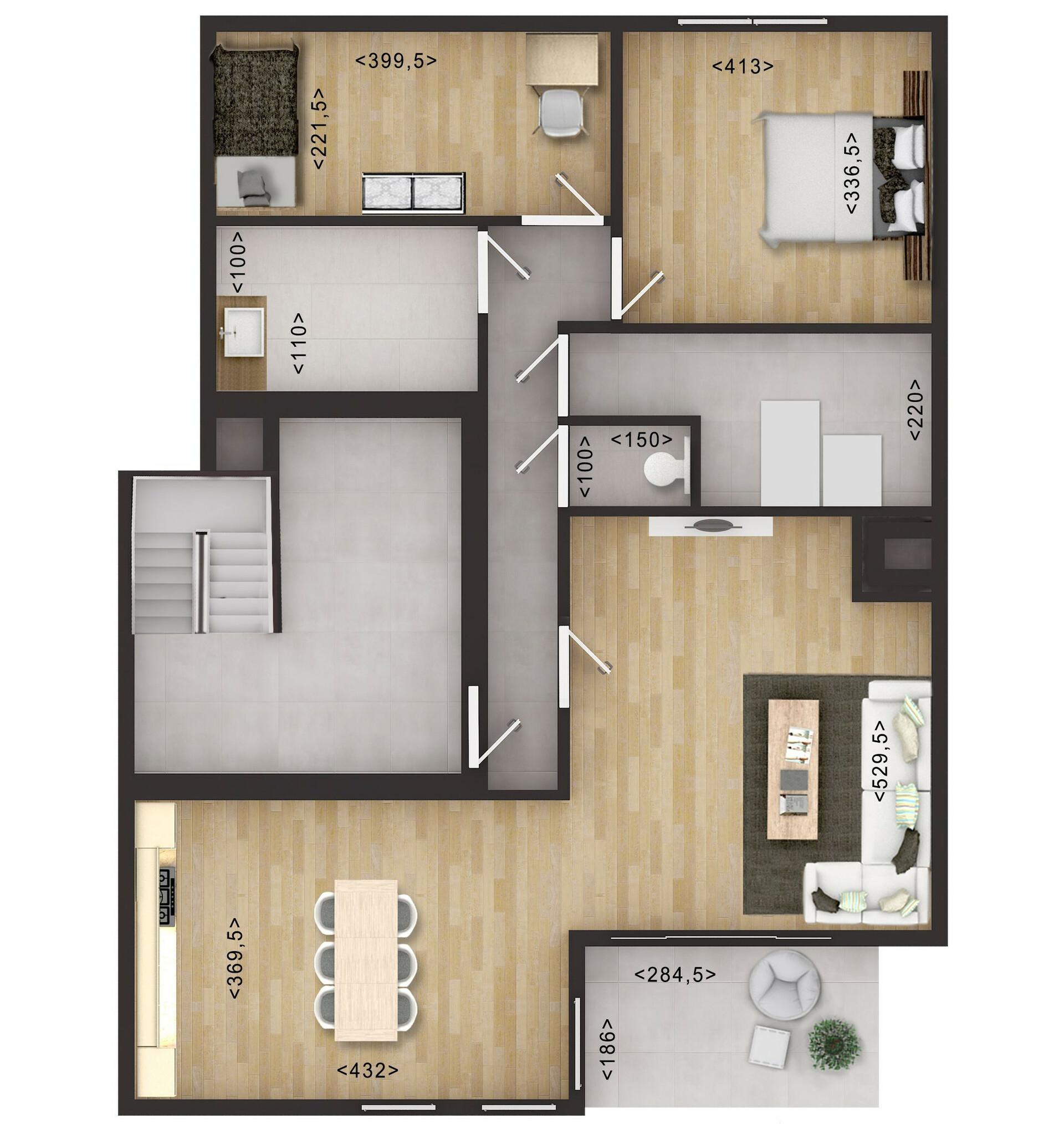 Artstation 2d And 3d Floor Plan Rendering Services Jmsd Consultant