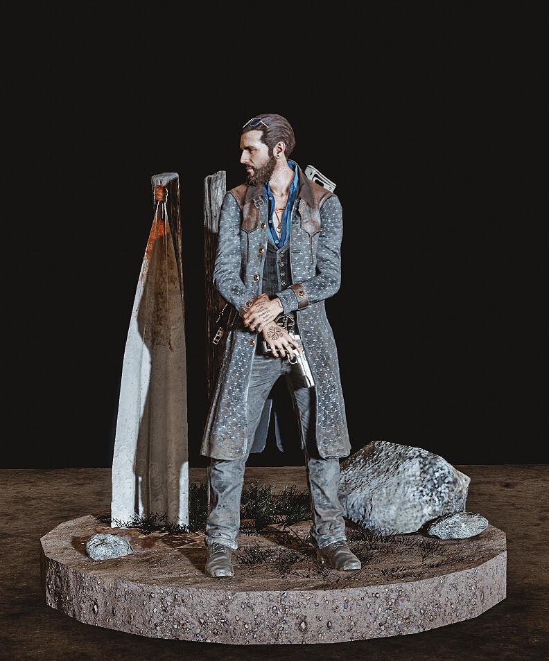 Artstation Far Cry 5 Figurines Fan Made German D