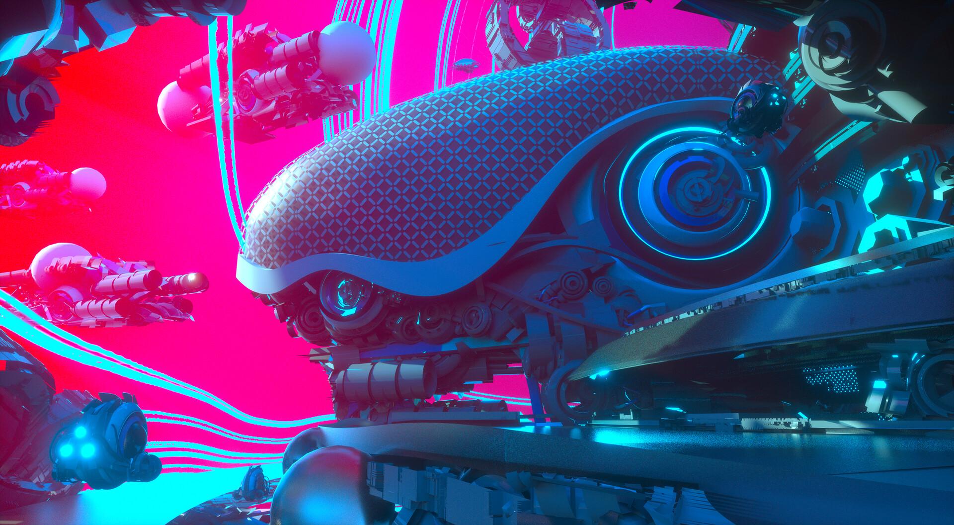 Leon tukker spacepirate city3d