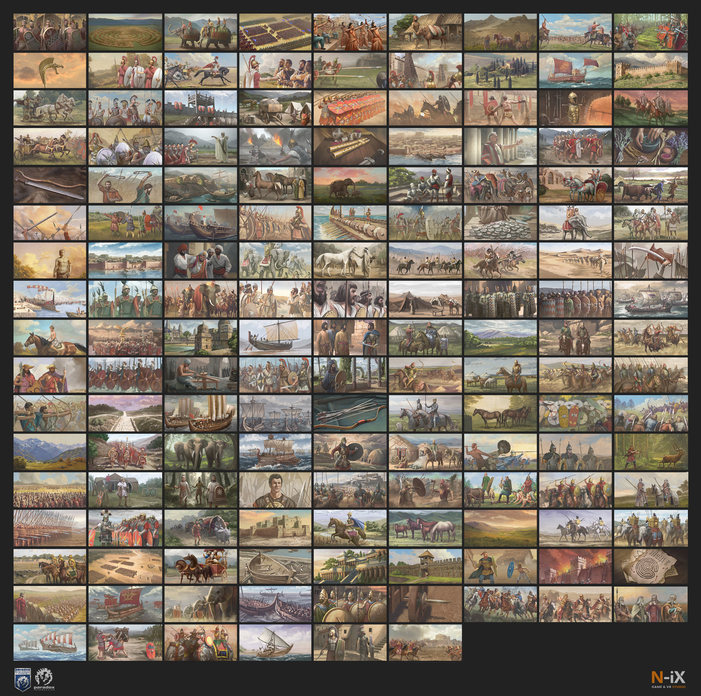"""Imperator: Rome The """"Military Tradition"""" compilation"""