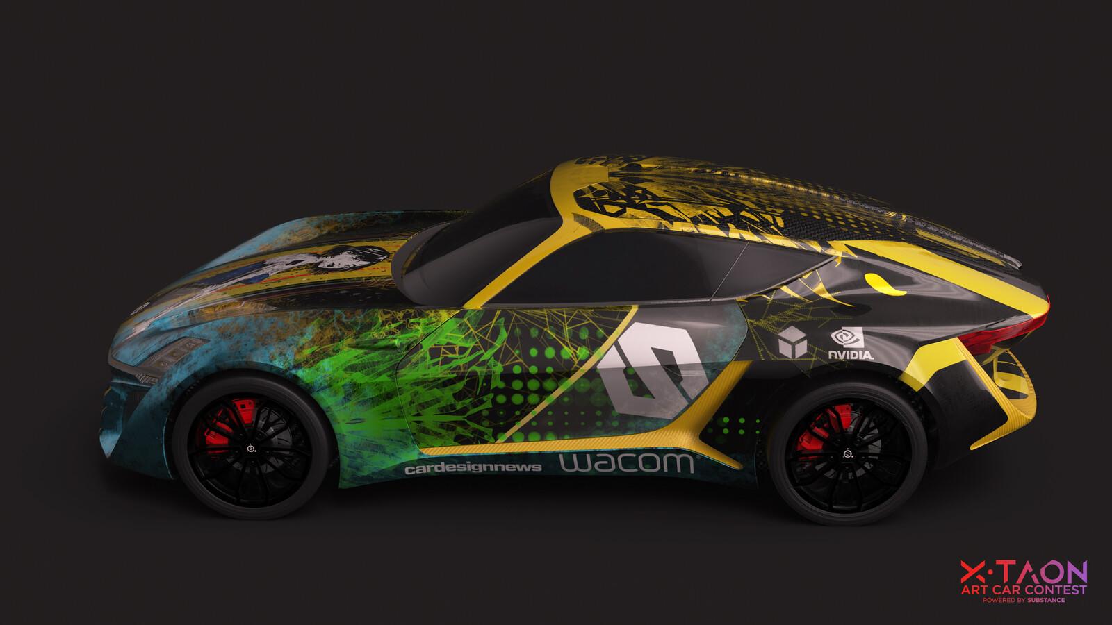 XTAON Art Car Contest Entry