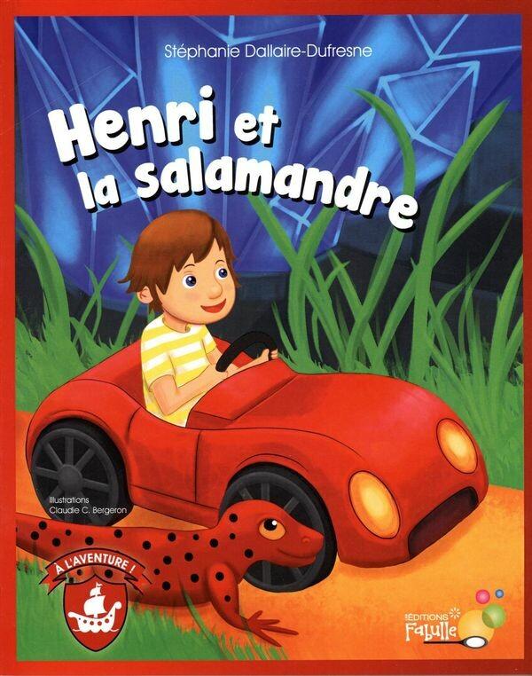 Henri et la Salamandre (Cover art)