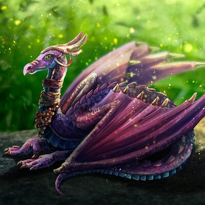 Klaudia bezak violet dragon