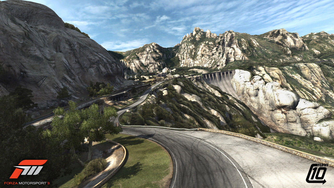 Promotional Screenshot of the Camino Viejo de Montserrat track