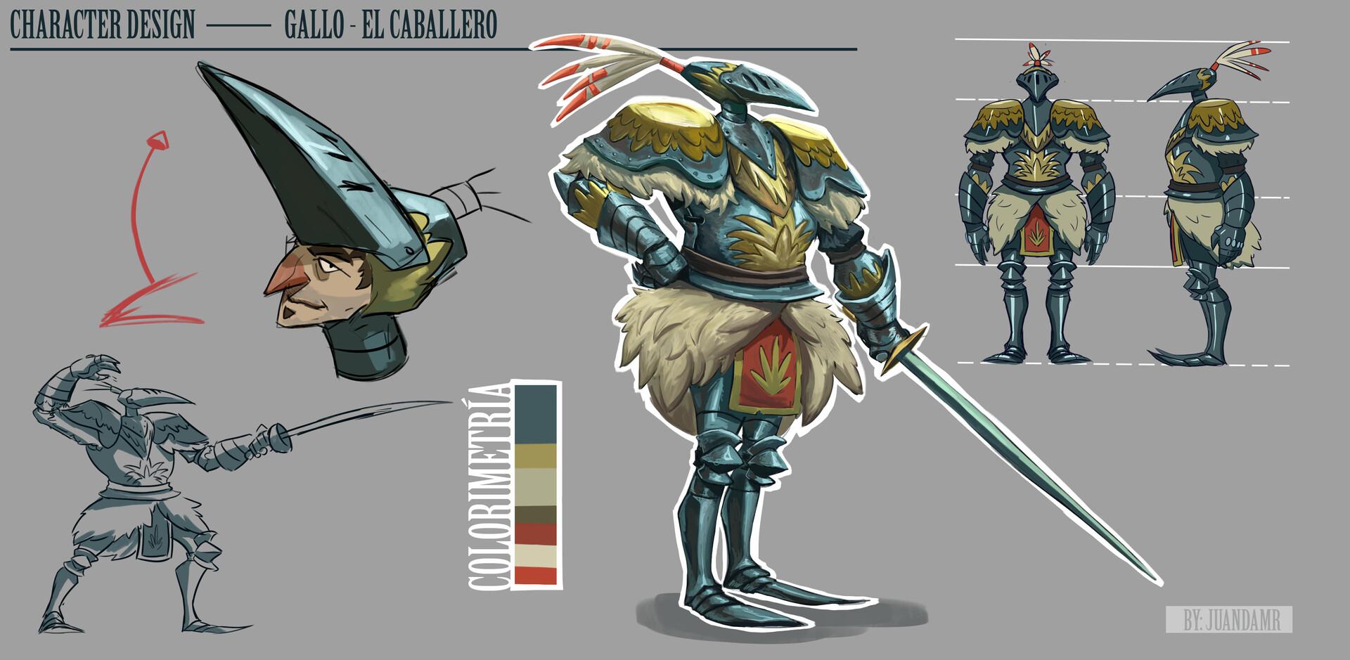 Juanda rico character presentation example