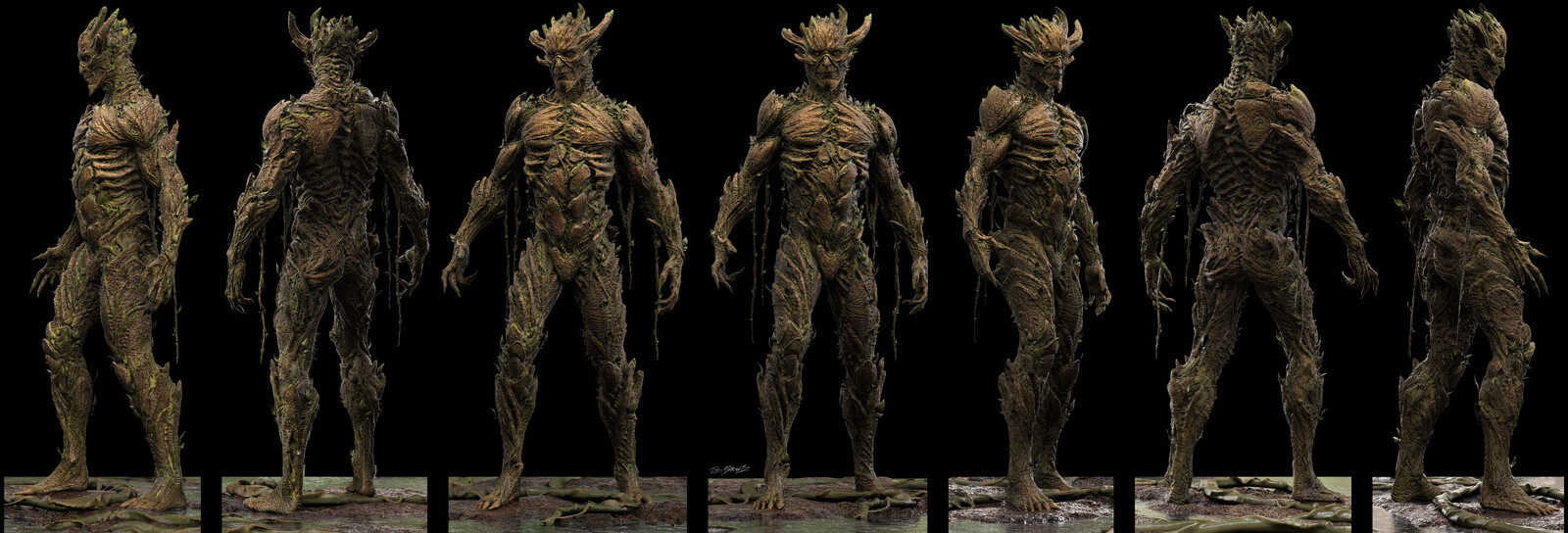 SWAMP THING Floronic Man Designs