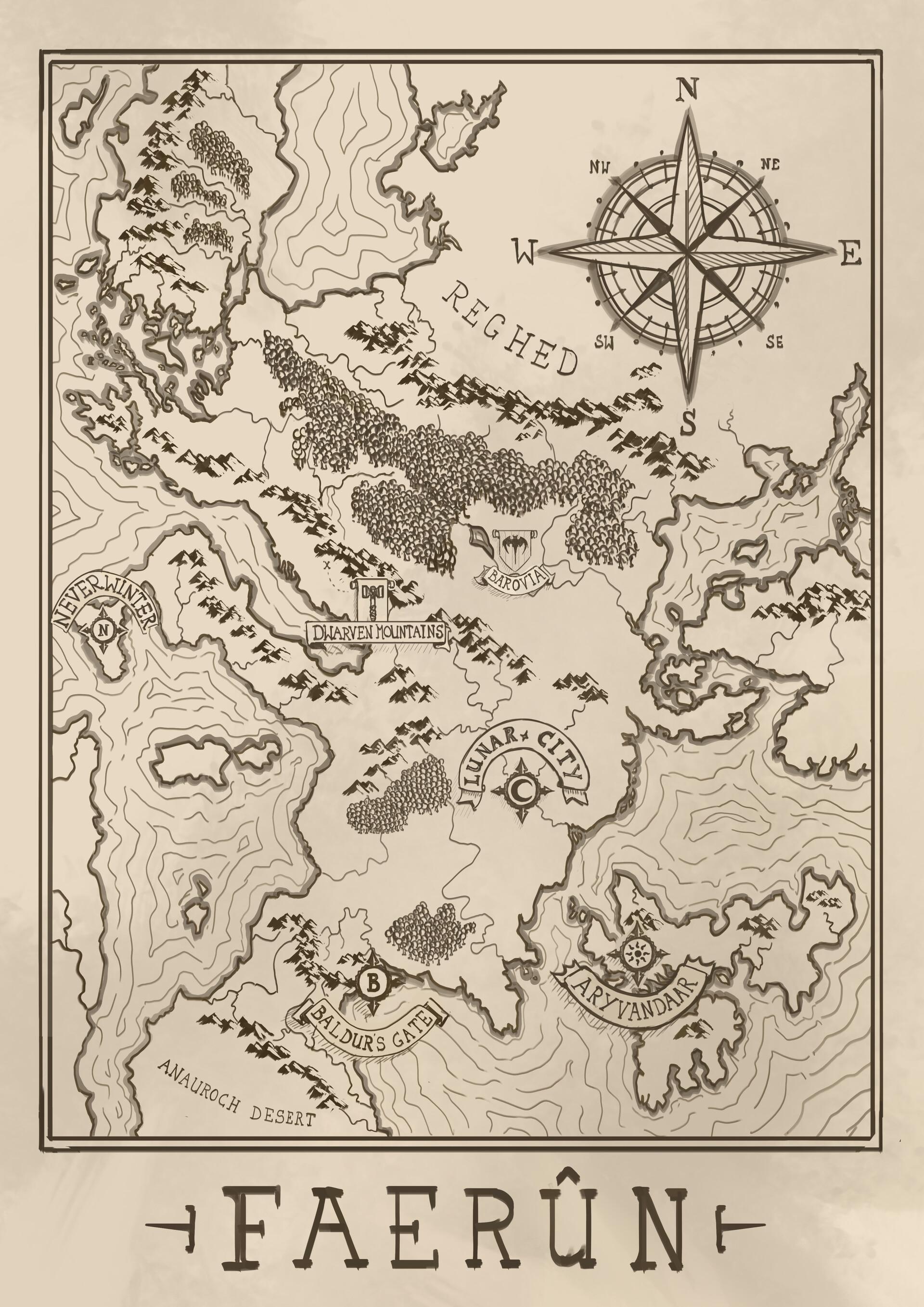 Arnesson art thomas hugo map