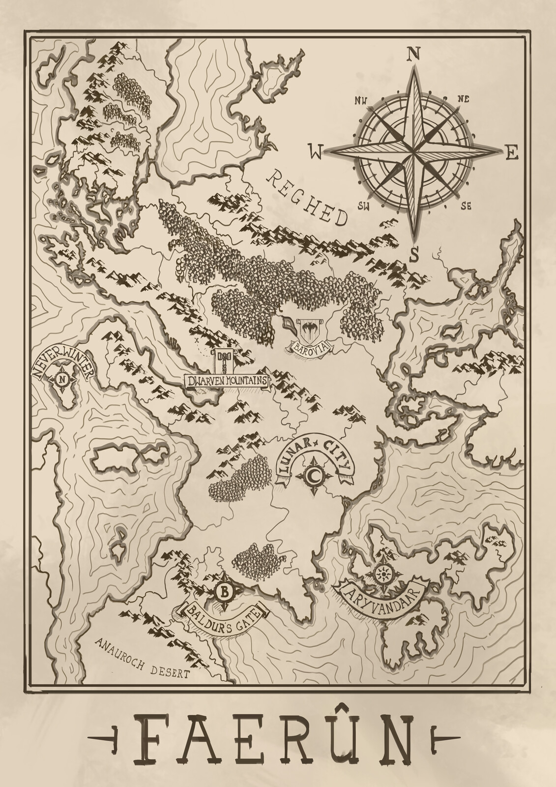Map of Fearun