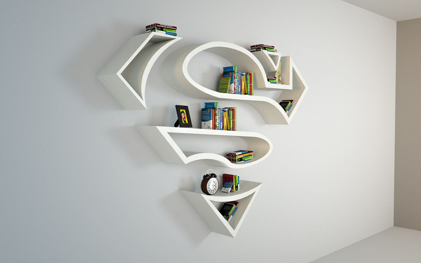 SUPERMAN BookShelf
