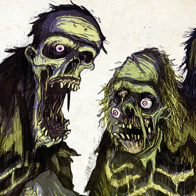 David hartman zombies by hartman by sideshowmonkey d54kzdw