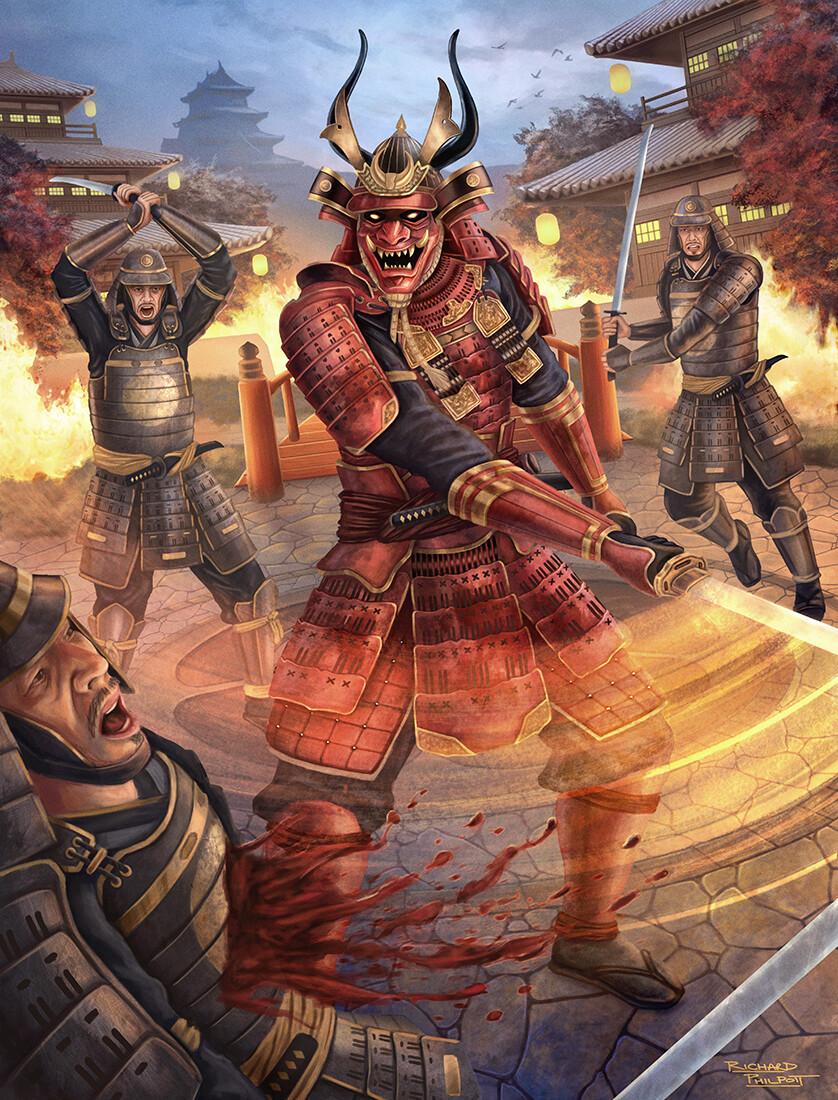 Richard philpott demon samurai 1100x838