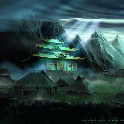 Nele diel mountain village castle