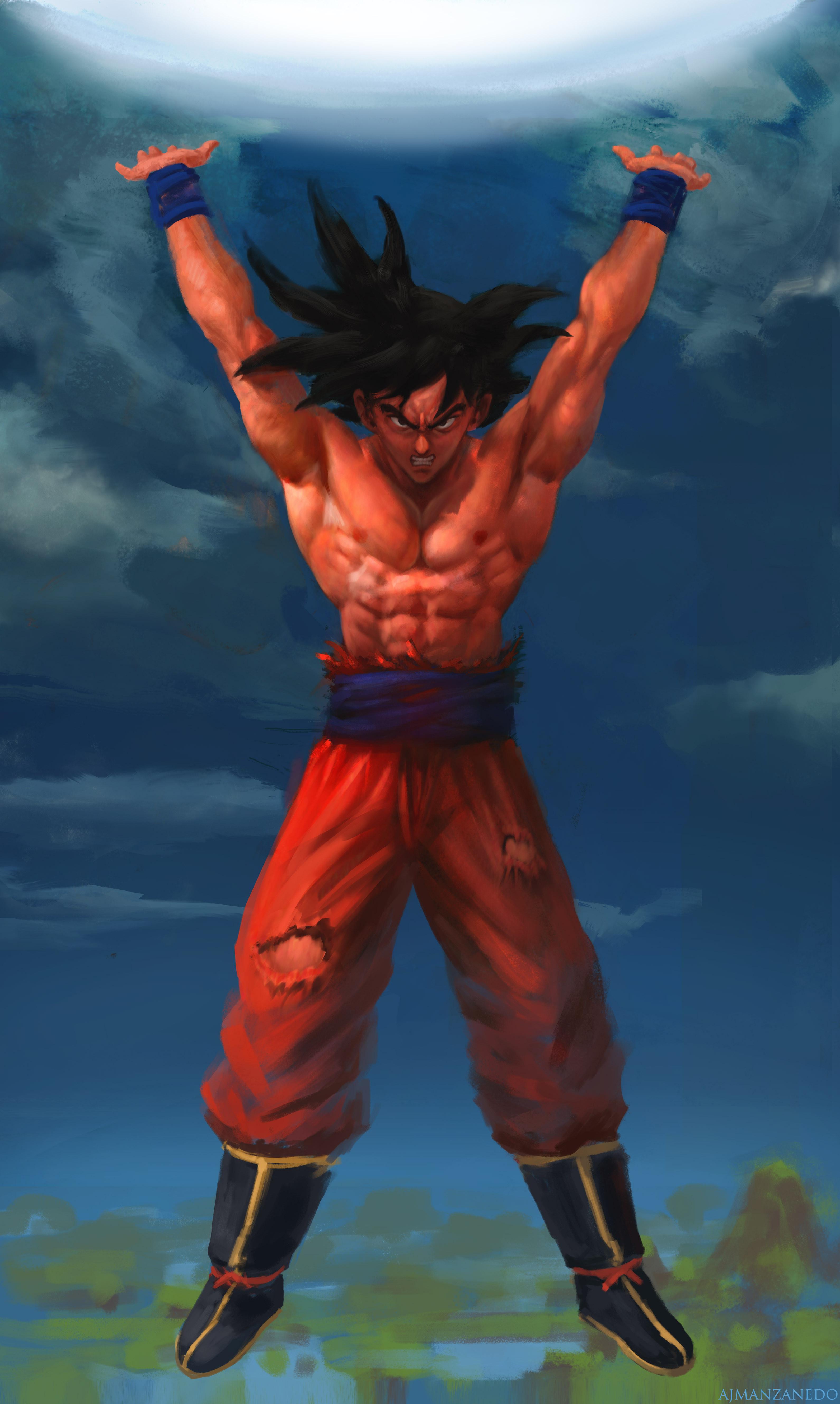 Goku. Genkidama