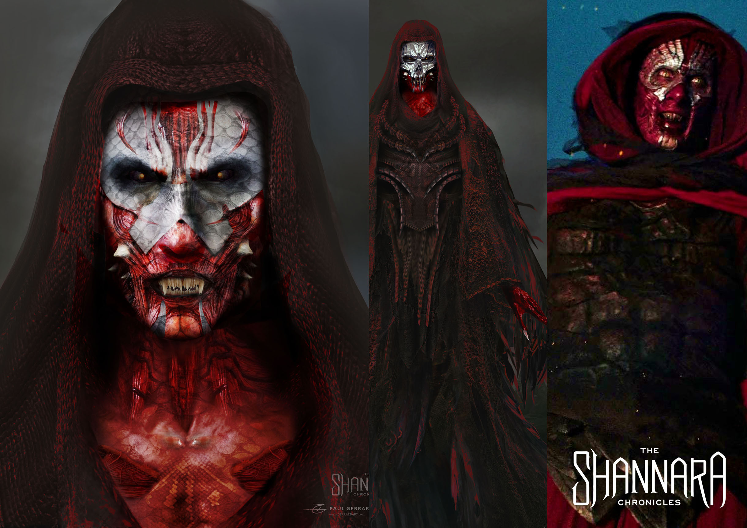 The Blood Wraith from The Shannara Chronicles.