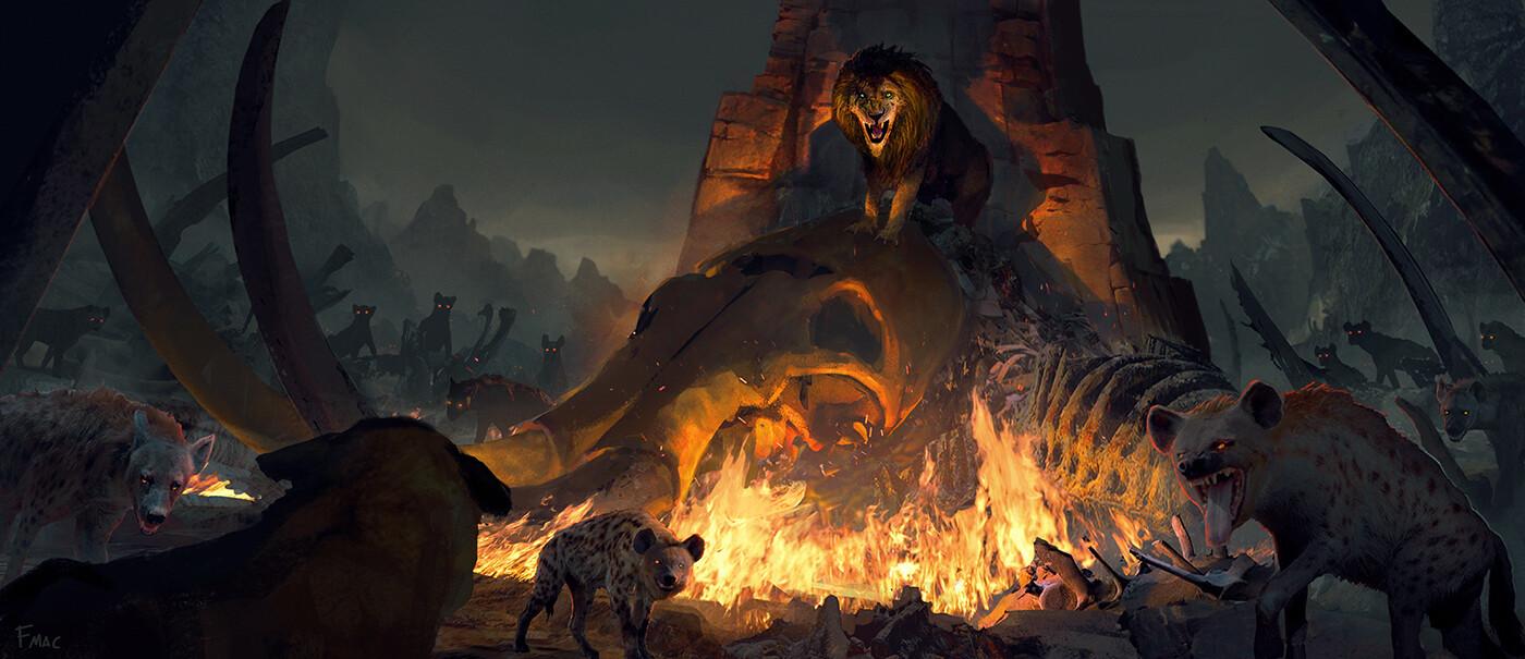 Le Roi Lion [Disney - 2019] - Page 34 Finnian-macmanus-elephant-graveyard-fm