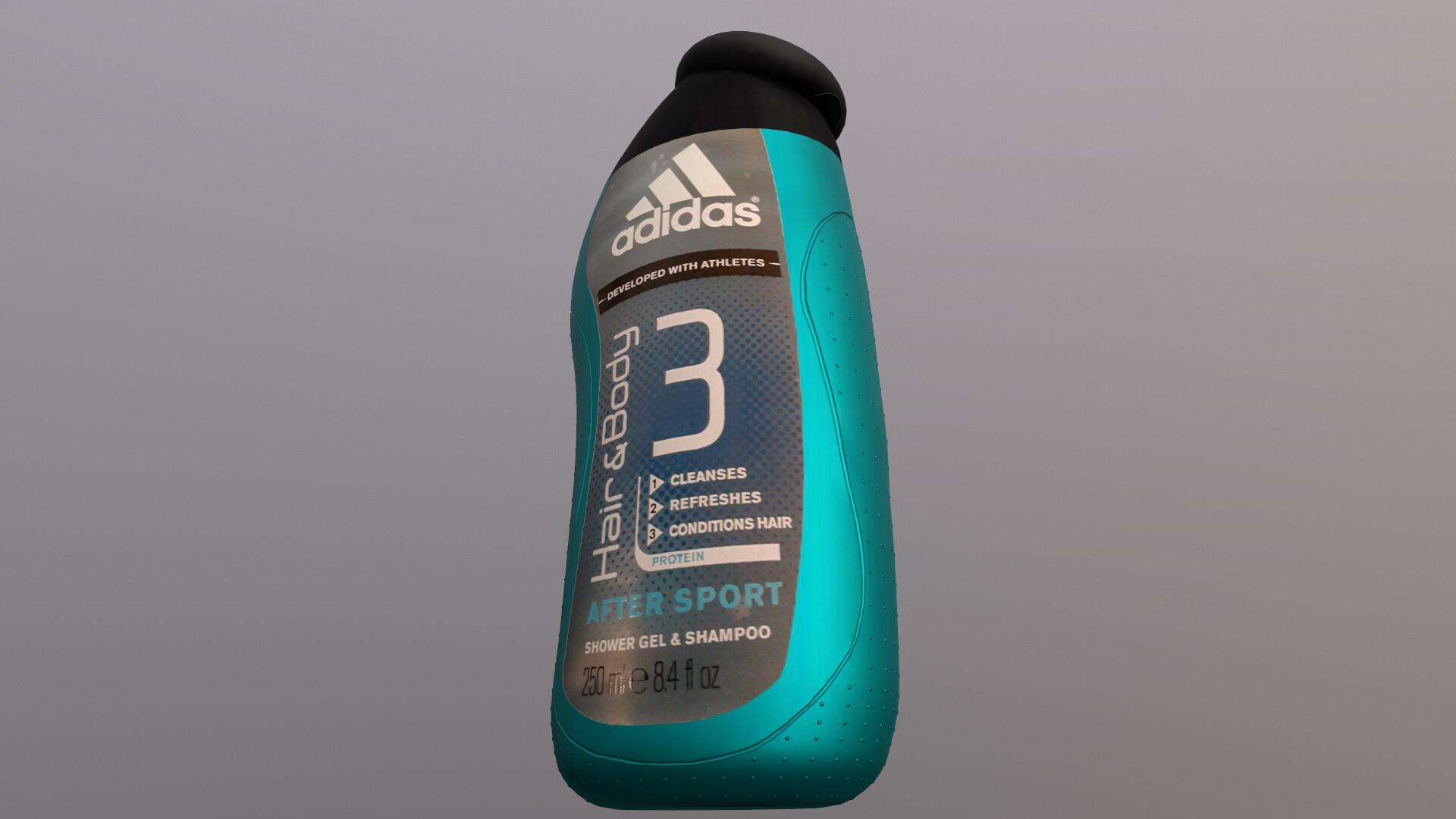 En Tareas del hogar empeorar  ArtStation - Adidas after sport shower gel shampoo, Vladislav Fomenos