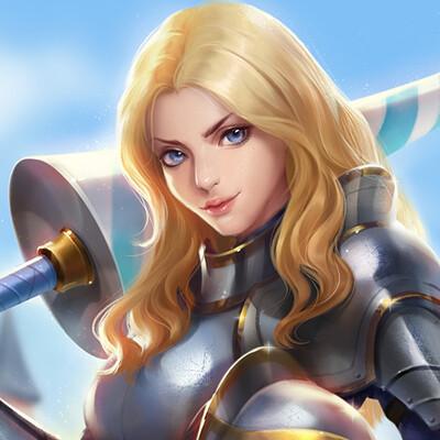 Eugenia vorontsova knight banner18