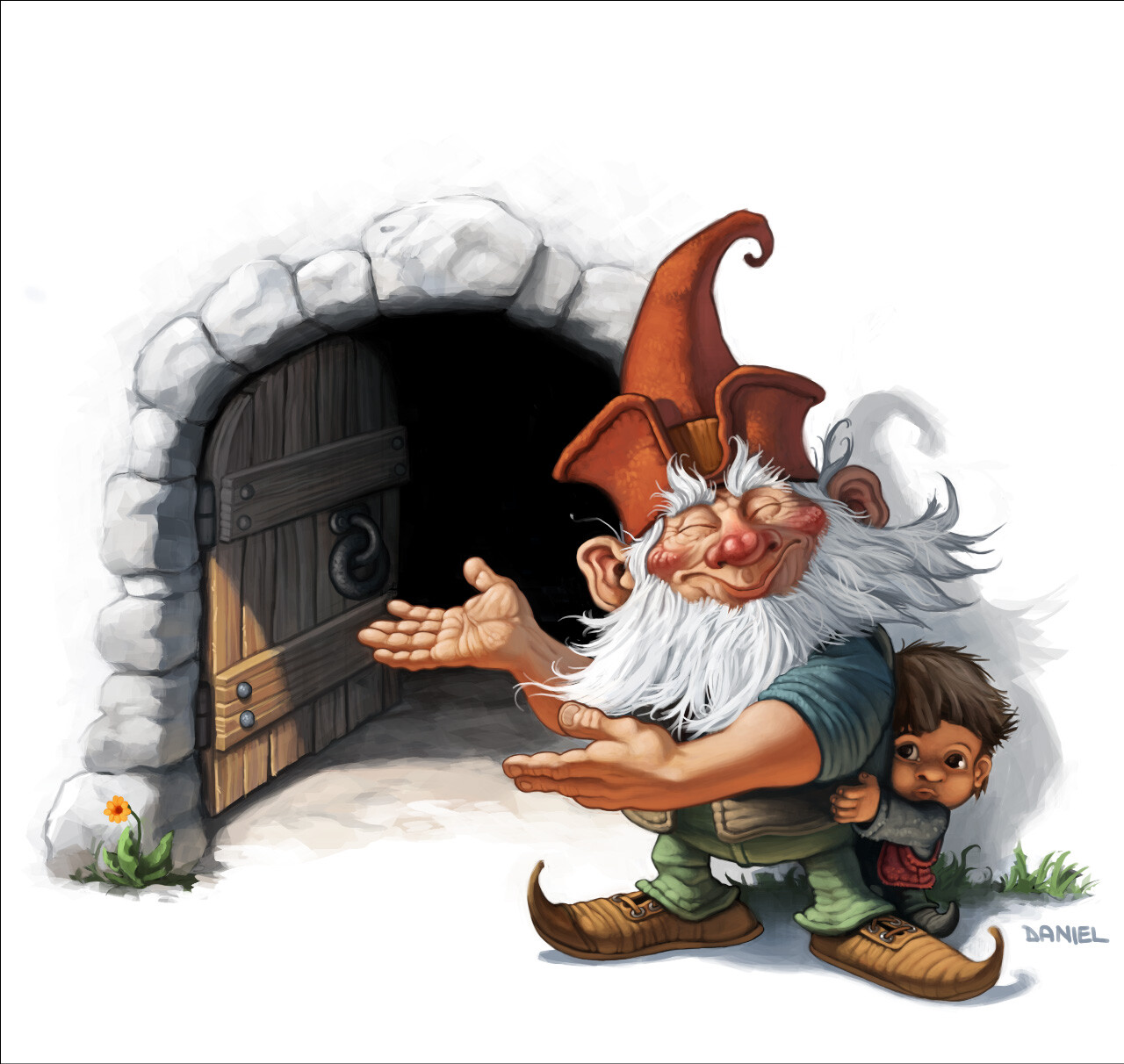 """Welcome Gnome"" - 2003"