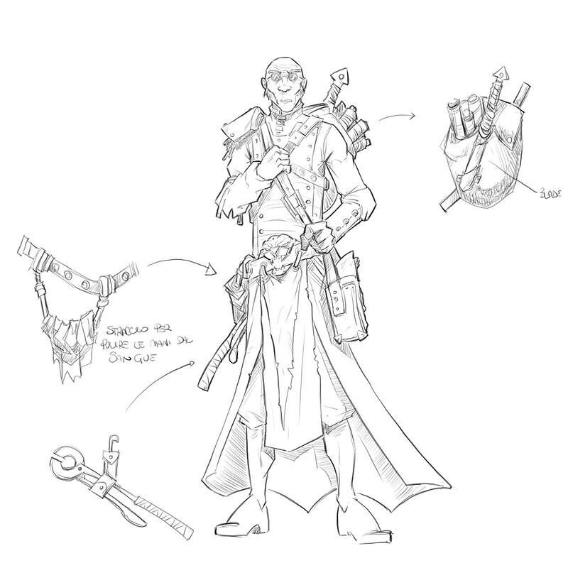 Fantasy Football Medic - 2D Concept