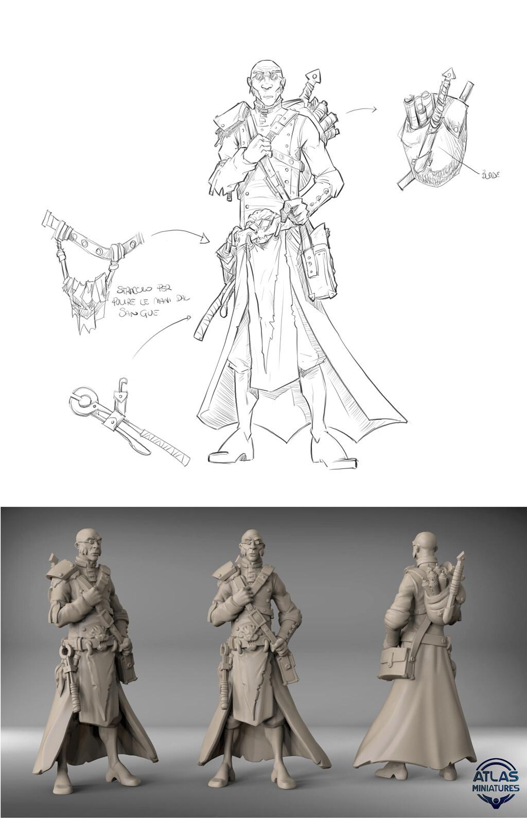2D Character Design - Claudio Casini Art 3D - Daniele Danko Angelozzi