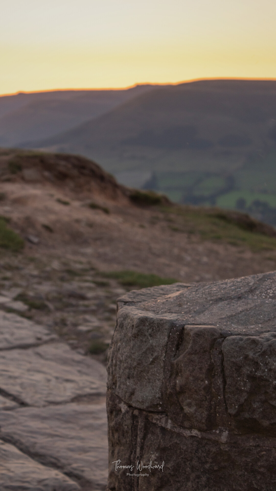 Thomas woodward mam tor evening 7