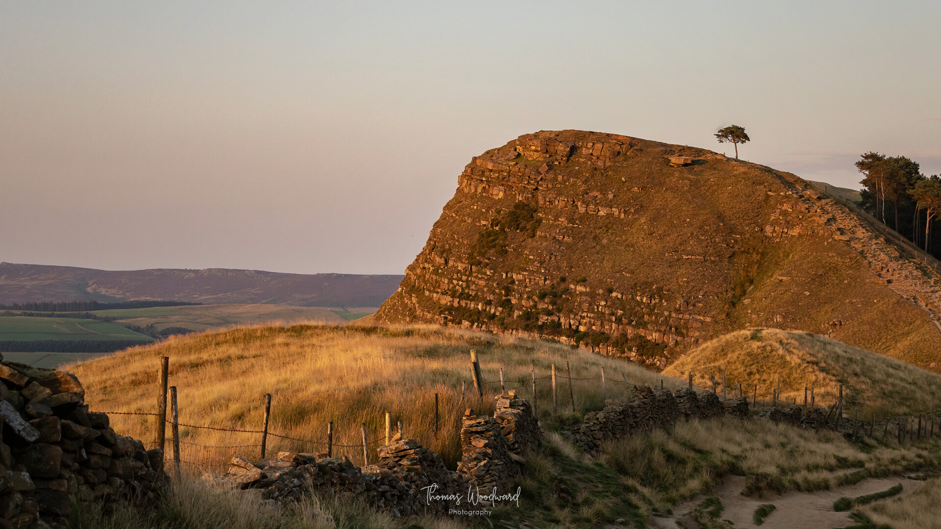Thomas woodward mam tor evening 14