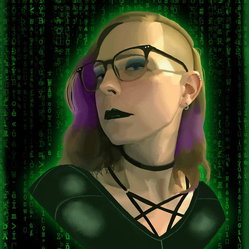 Matrix Self Portrait