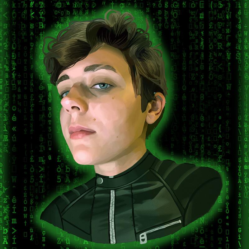 Matrix Portrait of the Artist's Partner