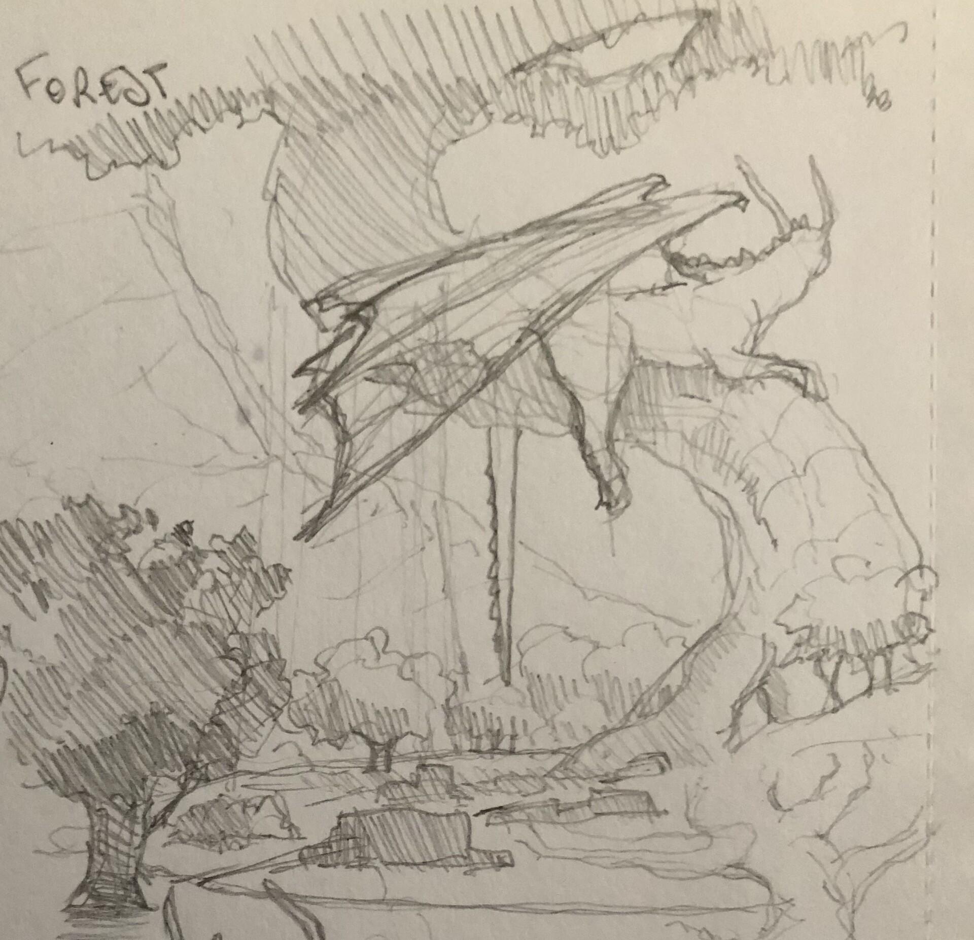 Initial sketch idea
