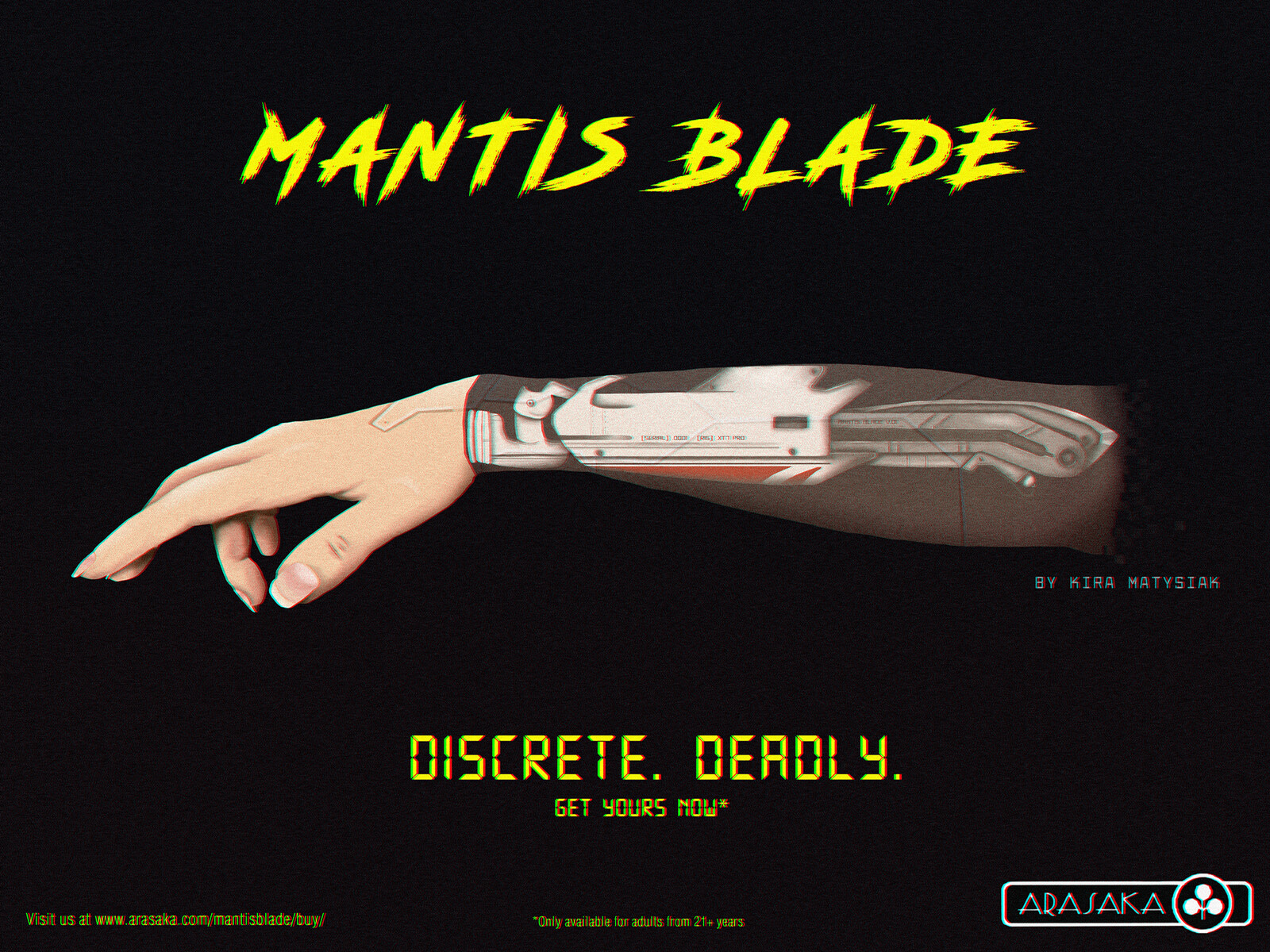 Mantis Blade Advertisement
