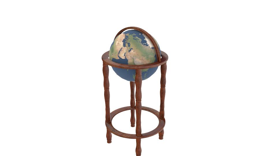 Simple World Globe
