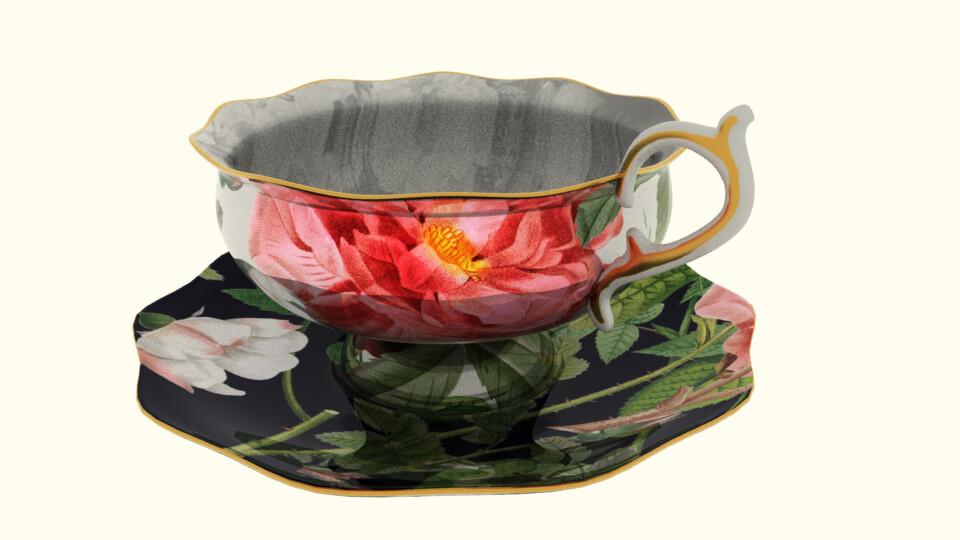 Shona robinson teacup saucer