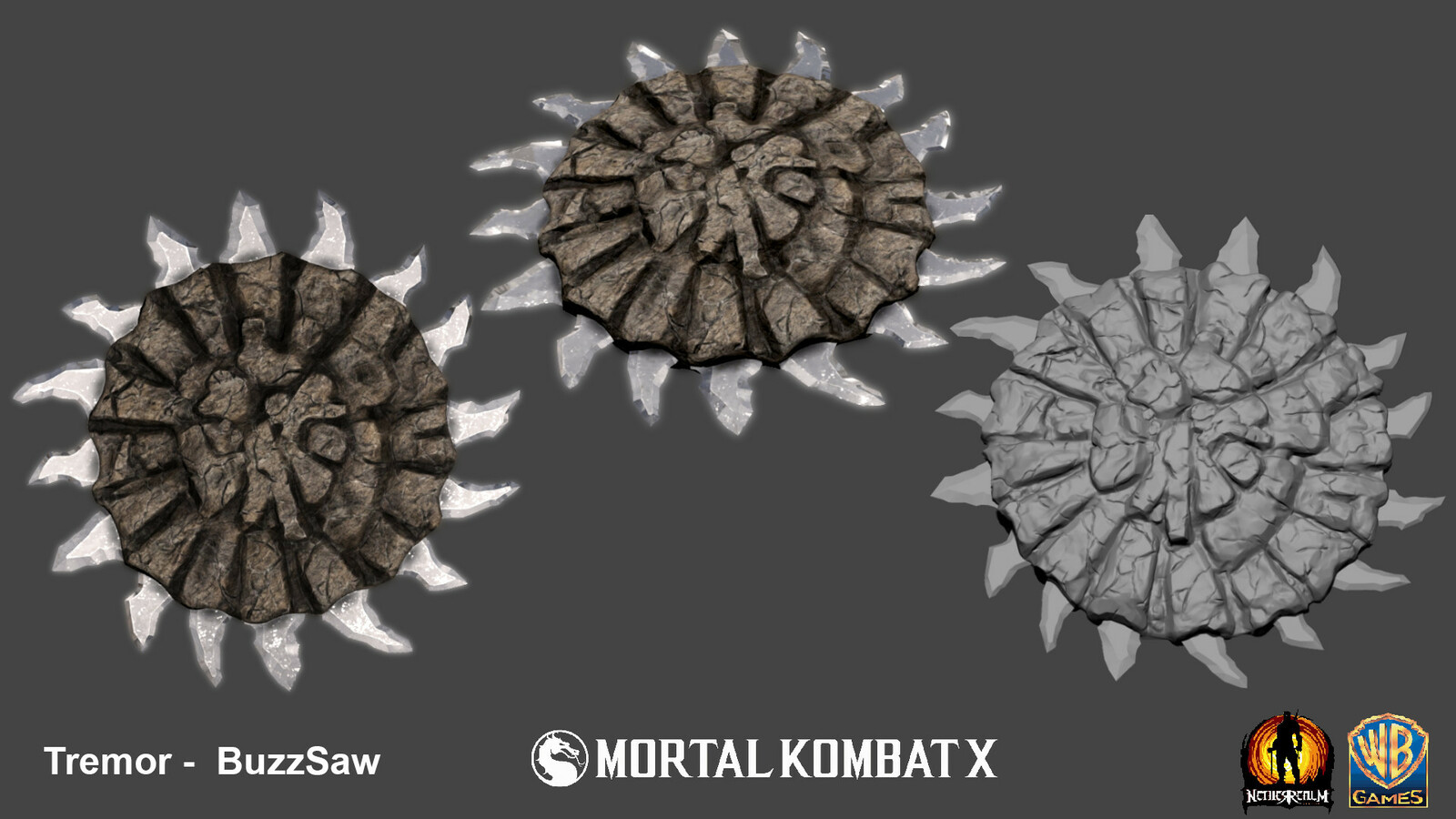 Crystal disc weapon for Tremor.