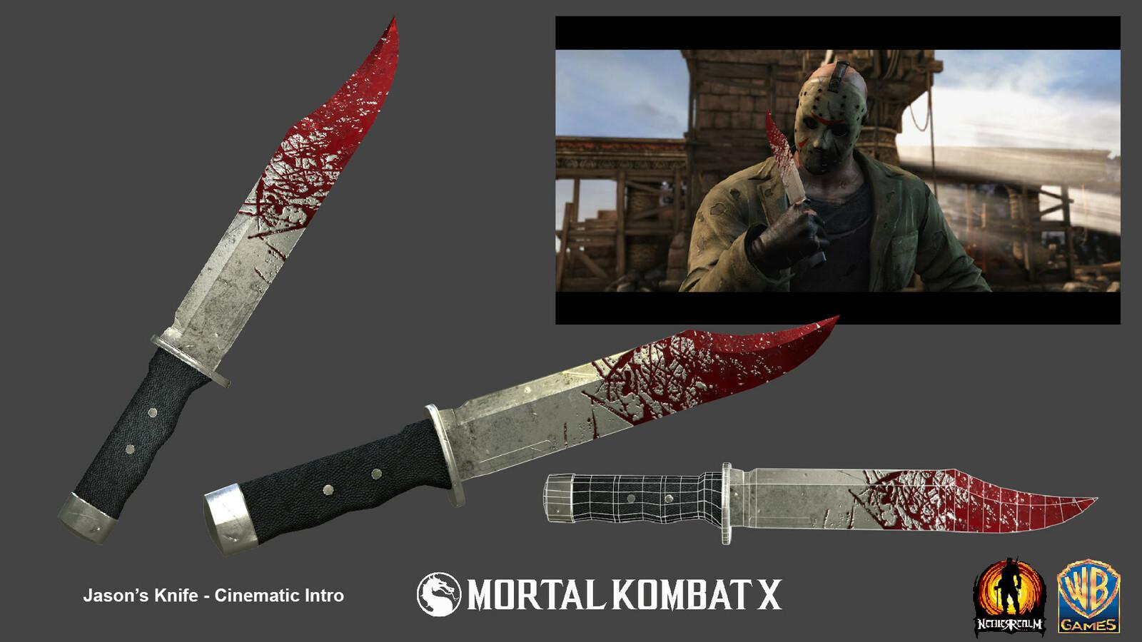 Intro Jason knife.