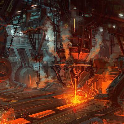 Hwanggyu kim smelting factory 01