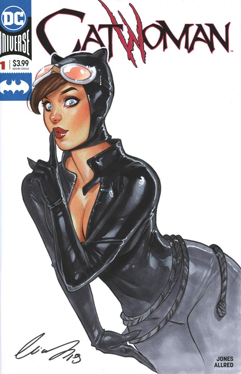 Catwoman by Elias Chatzoudis