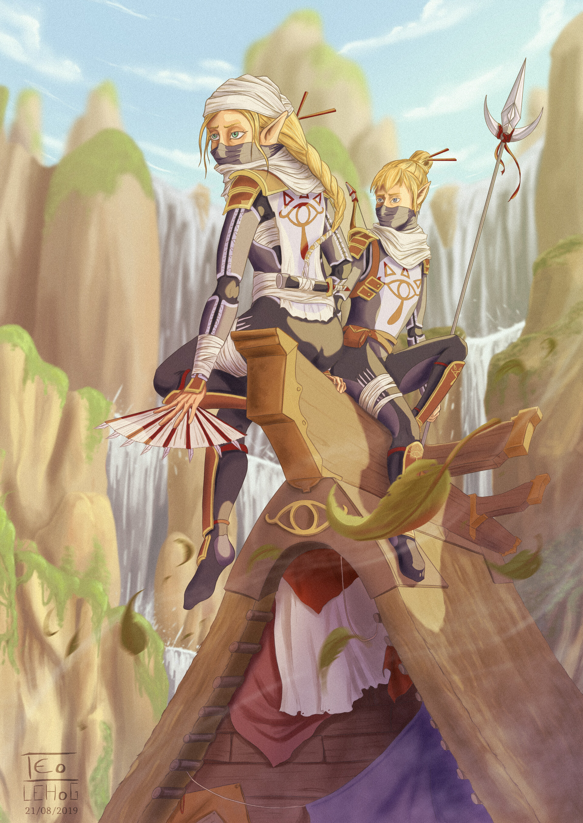 Anime Fanart Zelda Breath Of The Wild Materi Pelajaran 5