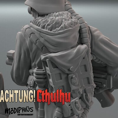 Trooper 1. Acthung Cthulhu
