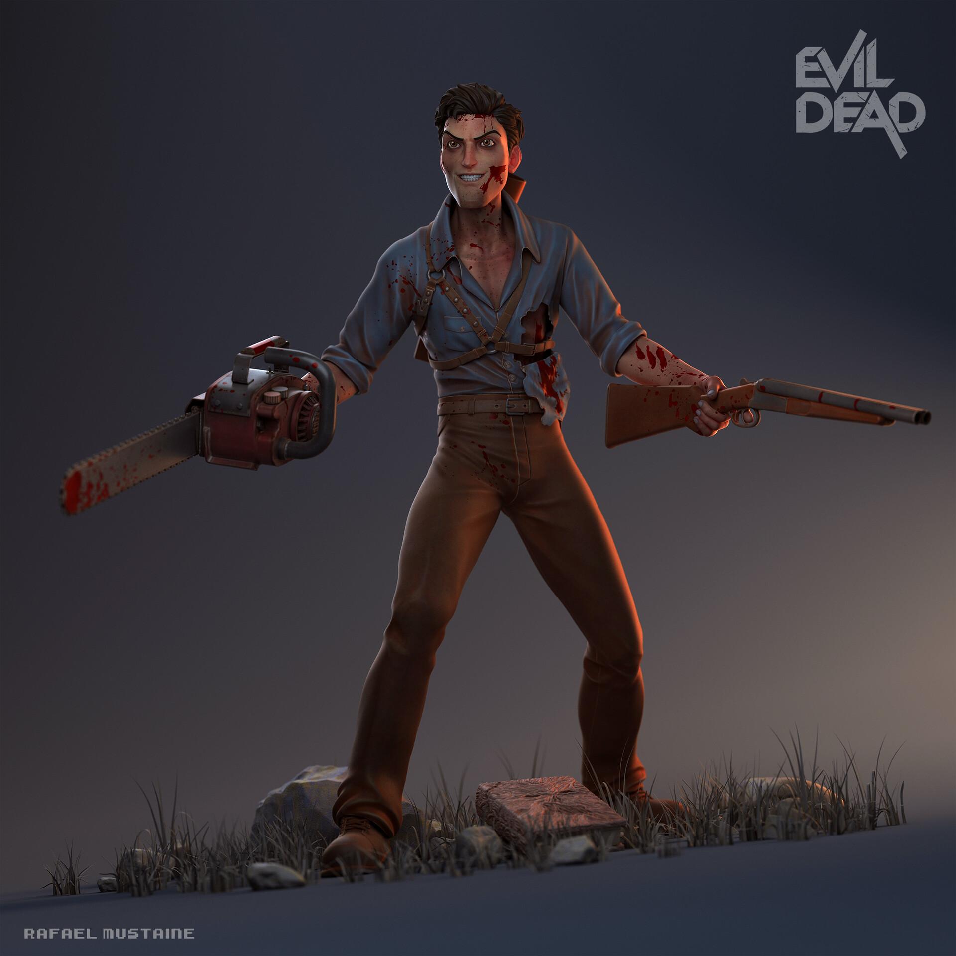Ash Evil Dead - Render Vray